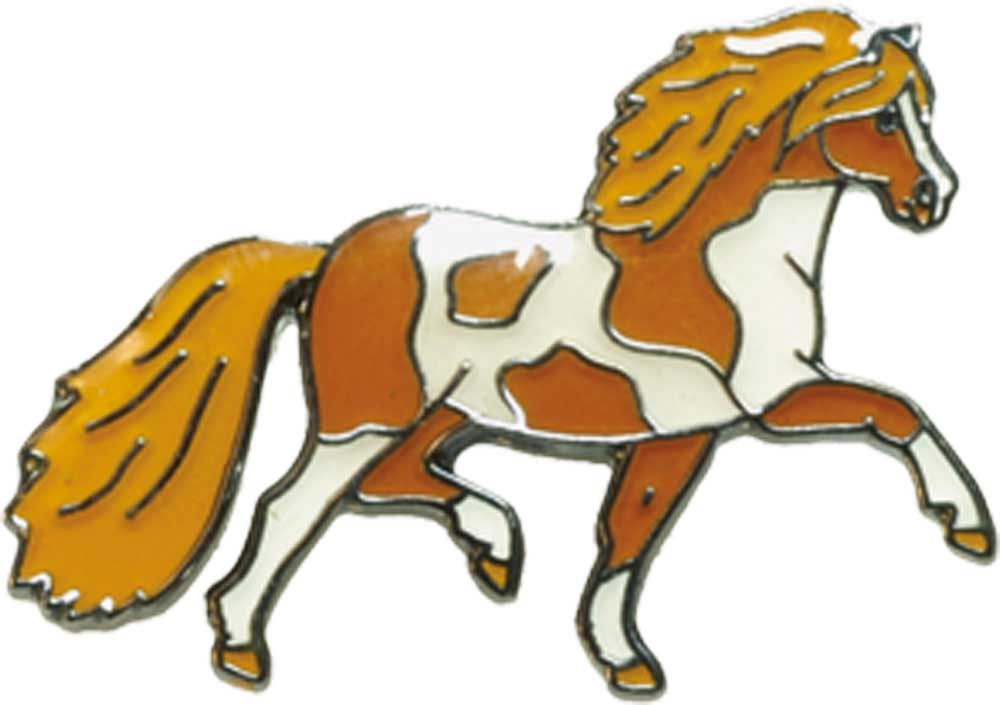Pin / broche: Pony gevlekt